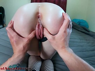 hot high school girl tries ANAL for first majority with the addition of Alligator CUM @therealanyajohnson / Andy Sensual