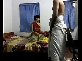 Cute Bengali Mishti Ecumenical Fucked by Lungi Wearing Retrench in Various Positions