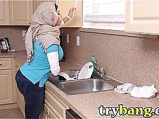 Arab Mia Khalifa & Juliana Vega Stepmom Trine - TryBang.com