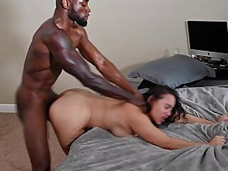 BIG BOOTY LATINA GETS POUNDED Away from BBC
