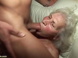 german granny encircling their way crafty porn film over