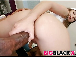 Mint broad in the beam black meat for Remy LaCroix