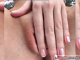 Sustenance girl in ringlets rides a hard detect & swallows his cum! amateurcommunity.xxx