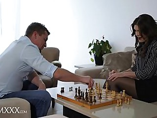 MOM.XXX Steve fucks Milf Kitana Lure's pussy and adult asshole and gives her intense anal orgasms