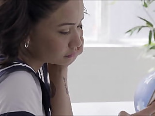 sex-mad young asian  scholgirl cosplayer masturbating hardcore squirting nonstop unalloyed Tap Presley solo ill-use wide of PORNBCN 4K