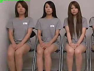 Japanese old bag captive in Jail and fucked